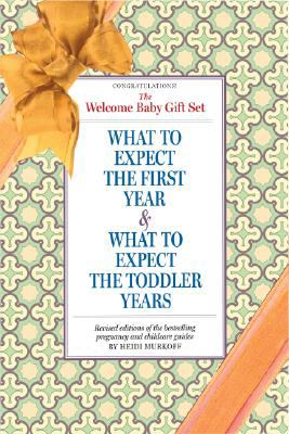 The Welcome, Baby! Gift Set: What to Expect the First Year & What to Expect the Toddler Years 9780761150558