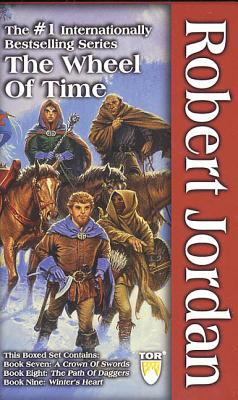 The Wheel of Time, Boxed Set III, Books 7-9: A Crown of Swords, the Path of Daggers, Winter's Heart 9780765344939