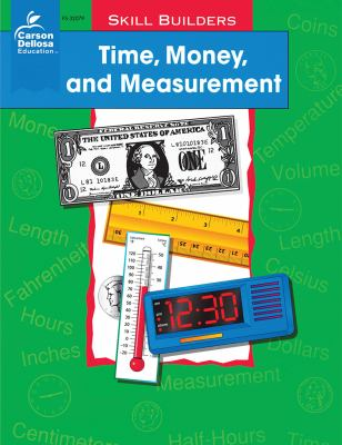 Time, Money, and Measurement, Grades 1 - 2 9780764700101