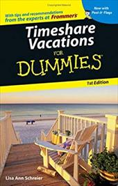 Timeshare Vacations for Dummies [With Post-It Flags] (9780764584428 2949279) photo