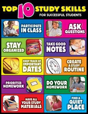 Top Ten Study Skills for Successful Students Cheap Chart 9780768239829