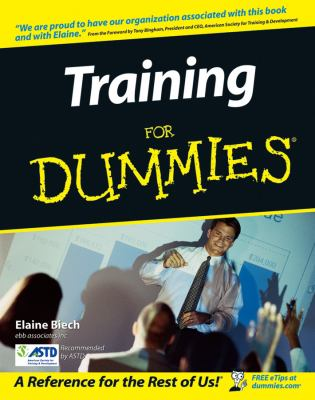 Training for Dummies 9780764559853