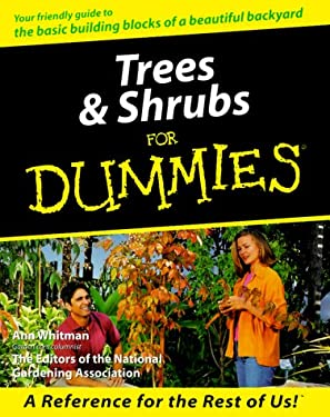Trees & Shrubs for Dummies 9780764552038