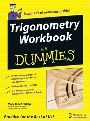 Trigonometry Workbook for Dummies 9780764587818