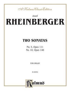 Two Sonatas: No. 5, Op. 111 and No. 10, Op. 146, Sheet