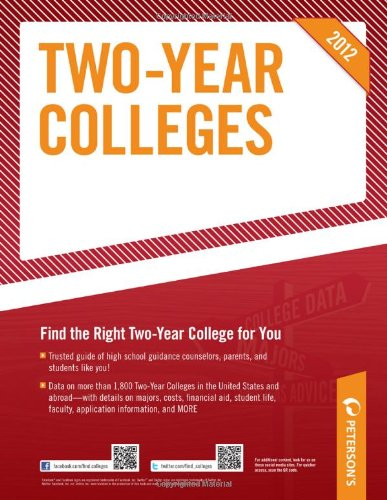 Two-Year Colleges 2012 9780768932782