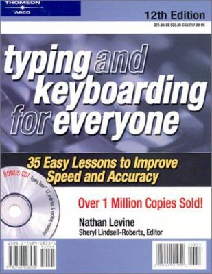 Typing and Keyboarding for Everyone W/CD [With CDROM] 9780768908534
