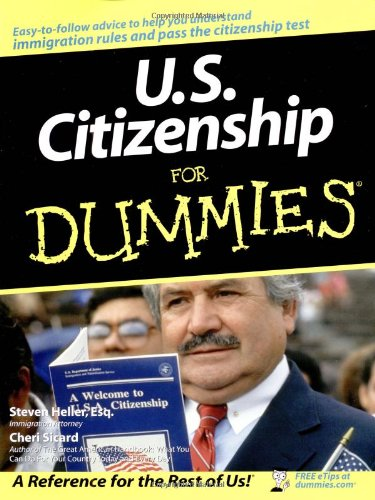 U.S. Citizenship for Dummies 9780764554636