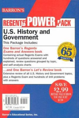 U.S. History and Government Power Pack: Let's Review: U.S. History and Government 9780764174971