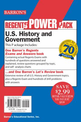 U.S. History and Government Power Pack 9780764193156