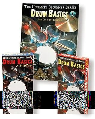 Ultimate Beginner Drum Basics Mega Pak: Book, CD & 2 Videos [With Book and 2 Videos and CD] 9780769282398
