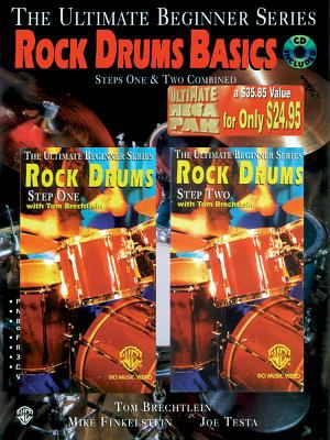 Ultimate Beginner Rock Drum Basics Mega Pak: Book, CD & 2 Videos [With Book and 2 Videos and CD] 9780769231129