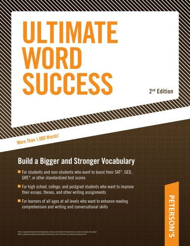 Ultimate Word Success: With Flash Cards; Build a Bigger and Better Vovabulary 9780768928198