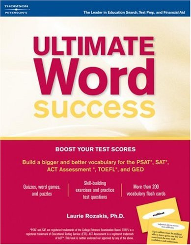 Ultimate Word Success [With Flashcards] 9780768911633