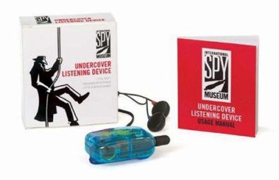 Undercover Listening Device: It's Not Eavesdropping--It's Espionage! [With 32 Page Book and Listening Device]