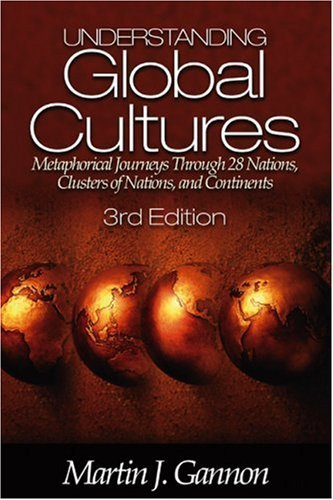 Understanding Global Cultures: Metaphorical Journeys Through 28 Nations, Clusters of Nations, and Continents 9780761929802