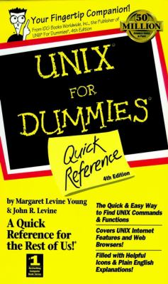 Unix for Dummies Quick Reference 9780764504204