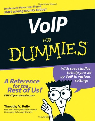 VoIP for Dummies 9780764588433