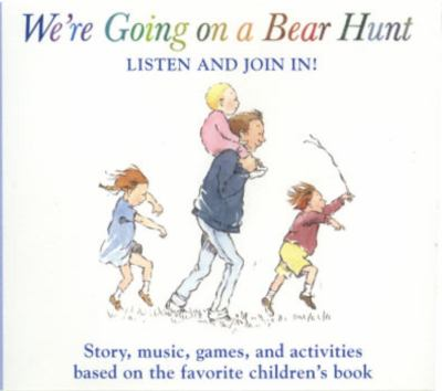 We're Going on a Bear Hunt CD 9780763624293