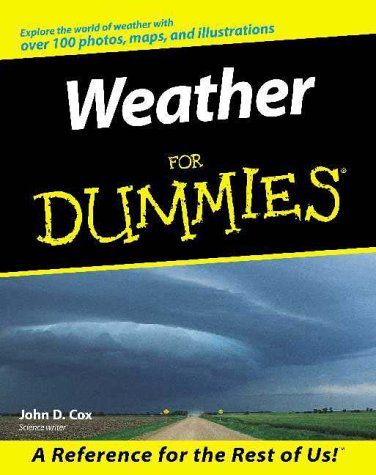 Weather for Dummies. 9780764552434