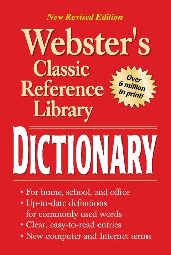 Webster's Dictionary 9780769615912