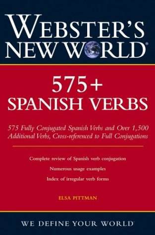 Webster's New World 575+ Spanish Verbs 9780764541575