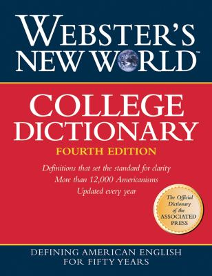Webster's New World College Dictionary 9780764556029