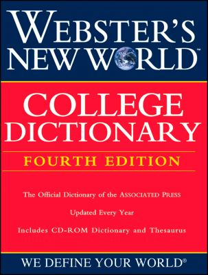 Webster's New World College Dictionary [With CDROM] 9780764571251