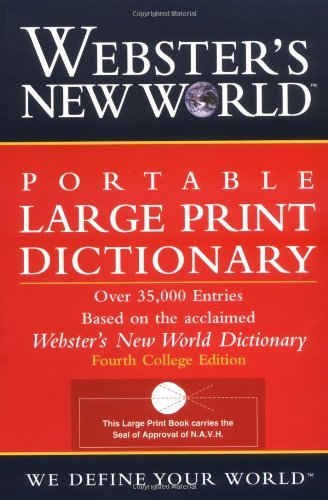Webster's New World Portable LP Dictionary