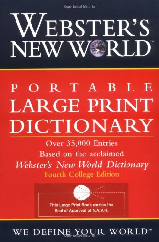 Webster's New World Portable LP Dictionary 9780764564918