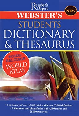 Webster's Student Dictionary & Thesaurus 9780762108589