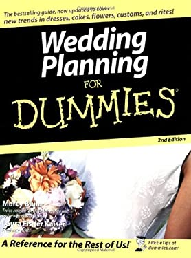 Wedding Planning for Dummies 9780764556852