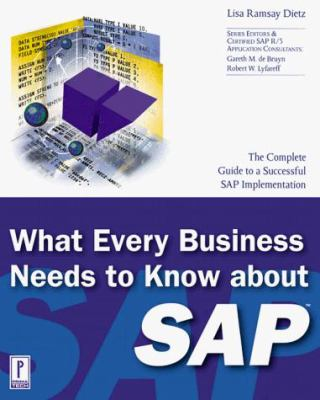 What Every Business Needs to Know about SAP 9780761520252