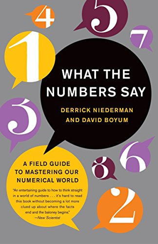 What the Numbers Say: A Field Guide to Mastering Our Numerical World 9780767909990