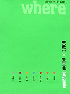 Where Rome Cityguide [With Popout Maps] 9780762747078