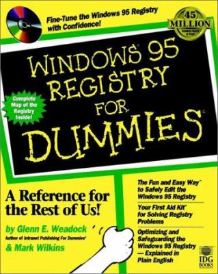 Windows 95 Registry for Dummies [With *] 9780764503597