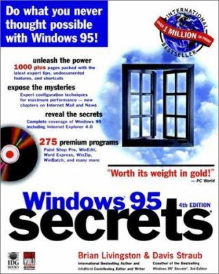 Windows 95 Secrets [With Includes Remote Computing Tools, HTML Editors...] 9780764530708