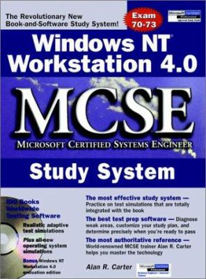 Windows NT Workstation 4.0 MCSE Study System [With 2 CDROM] 9780764546068