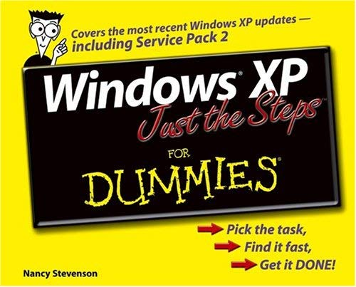 Windows XP Just the Steps for Dummies 9780764574801
