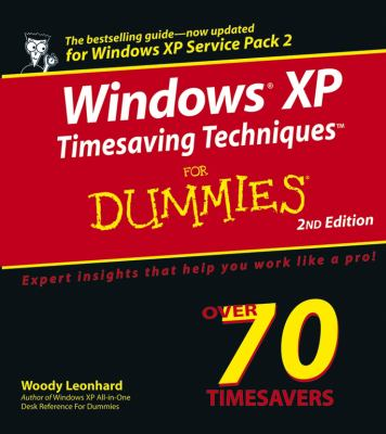 Windows XP Timesaving Techniques Dummies 9780764578830