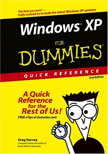 Windows XP for Dummies Quick Reference 9780764574641