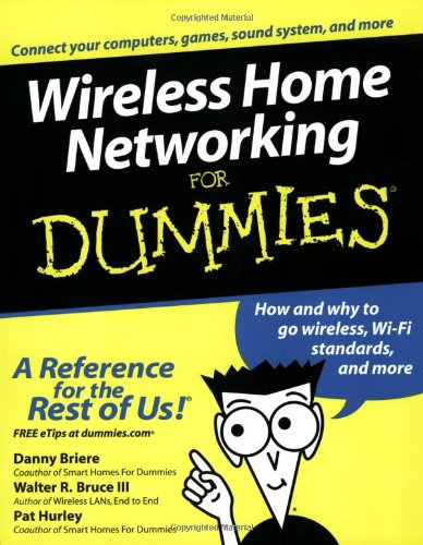 Wireless Home Networking for Dummies 9780764539107