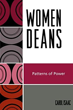 Women Deans: Patterns of Power 9780761836759