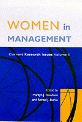 Women in Management: Current Research Issues Volume II 9780761966036