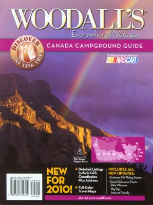 Woodall's Canada Campground Guide 9780762754724