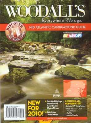Woodall's Mid Atlantic Campground Guide 9780762754762