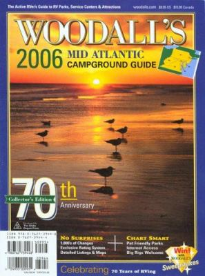 Woodall's Mid-Atlantic Campground Guide 9780762739448