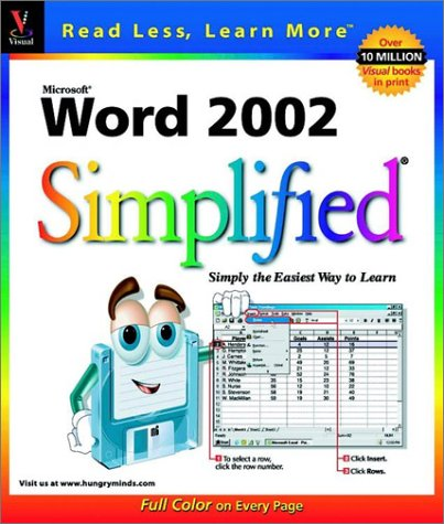 Word 2002 Simplified 9780764535888