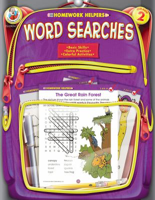 Word Searches, Homework Helpers, Grade 2 9780768207125