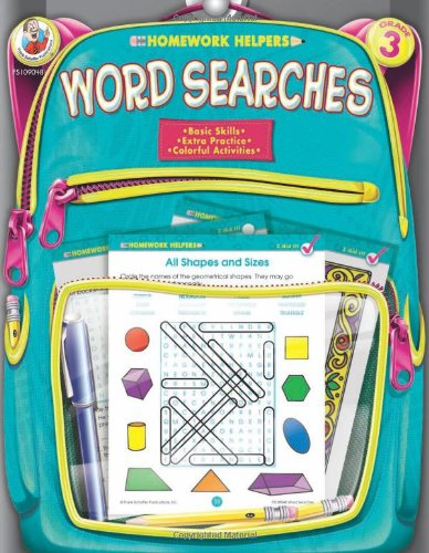 Word Searches, Homework Helpers, Grade 3 9780768207194